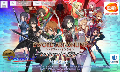 Sword Art Online : Integral Factor – Buka Server Global