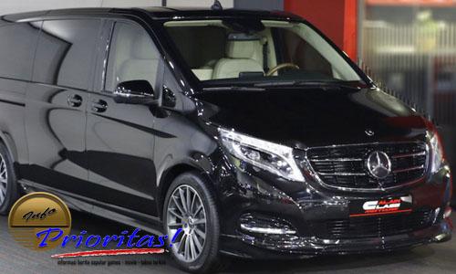Mercedes Benz V Class Mobil Van Termahal 2018