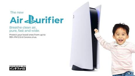 Jangan Bilang Beli PS5, Tapi Beli Air Purifier